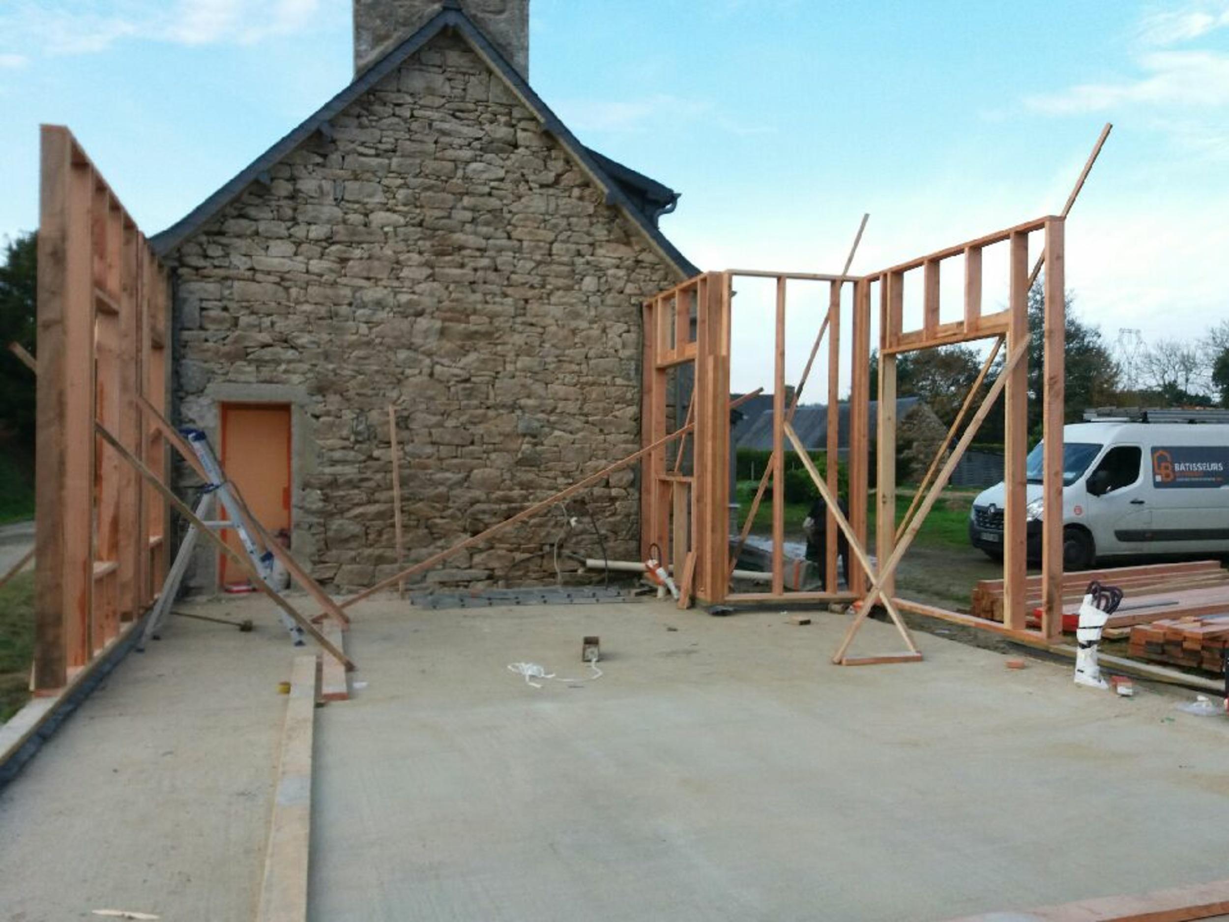 Extension et rénovation résidence secondaire - Louargat