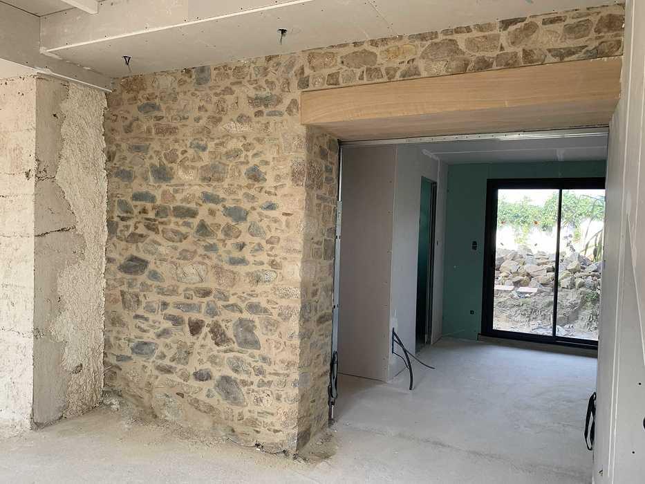 Extension et rénovation - démolition, maçonnerie, charpente- Plougrescant (22) img2330