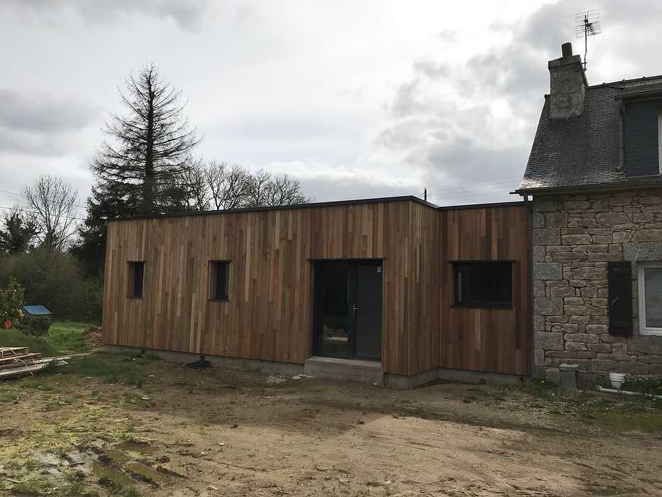 Extension et rénovation résidence secondaire - Louargat img2043