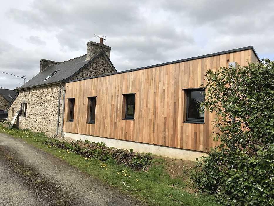 Extension et rénovation résidence secondaire - Louargat img2051